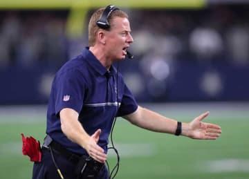 Head coach Jason Garrett of the Dallas Cowboys