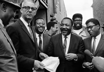 Martin Luther King Jr. Day is the second federal and state holiday of the year. (AP Photo) (Uncredited/)(ap photo/)