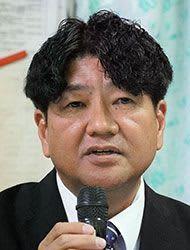 西原町長選挙に崎原盛秀氏が出馬表明 「町民本位」決意語る