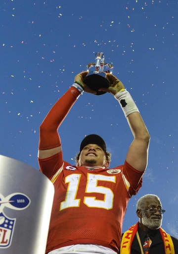 Patrick Mahomes, 24-year-old face of the Chiefs, is now the face of the Super Bowl