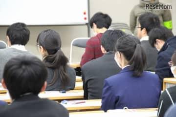 センター試験2020(写真は2017年のようす)