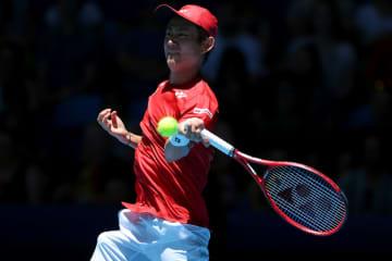 「ATPカップ」での西岡良仁