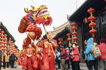 中国各地で春節イベント