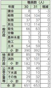 人事行政の運営状況(平成30年度) (1)