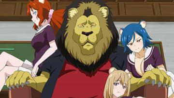 「群れなせ!シートン学園」間様人たちの前にライオン、ハダカデバネズミが現れる…第3話先行カット
