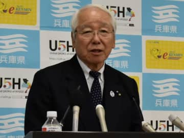 兵庫県の井戸敏三知事(写真:ラジオ関西)