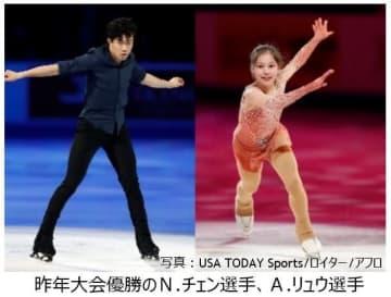 ISU欧州、四大陸選手権などフィギュアスケート選手権をJ SPORTSが放送