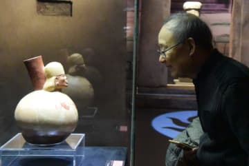 神秘のベールを脱ぐ、アンデス文明特別展開幕 天津博物館