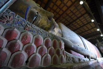 張掖大仏寺、西夏の皇室寺院を訪ねて 甘粛省