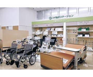 ヘルスケア機能充実 スギ薬局石川県庁前店