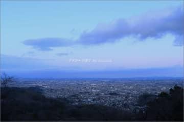 夕景、夜景。 ~太平山より