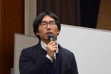「総合サポートユニオン」の坂倉昇平さん(2019年12月23日/弁護士ドットコム撮影)