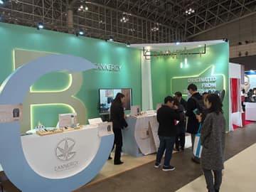 美容・健康食品EXPOでCBDを摂取できる電子タバコCannergyシリーズをお披露目