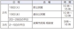 2月17日~3月16日 確定申告 準備は早めに(1)