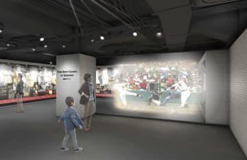 改装開業する甲子園歴史館のイメージ(阪神電気鉄道提供)