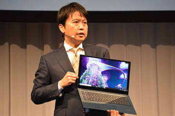 NECが1月20日に発表したノートPCの新シリーズ「LAVIE VEGA」