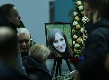 ウクライナ旅客機事件の犠牲者の遺体が帰国
