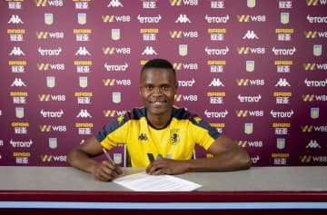 Samatta 'excited' to sign for Villa
