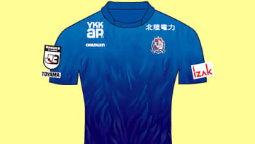 カターレ富山、2020新ユニフォームを発表!デザインは「富山県の象徴」 画像