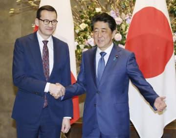 エネルギー協力を進展、で一致 日ポーランド首相 画像