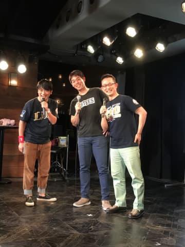 レッズ秋山がやっと英語で自己紹介 都内のトークイベントで 画像