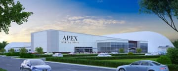 Artist's rendering of the Apex Sports & Events building (Provided by Apex Sports & Events /)