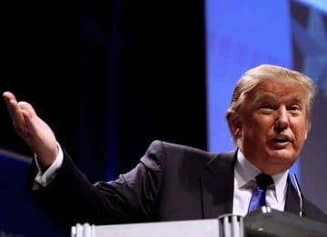 Donald Trump speaking at CPAC 2011 in Washington, D.C.