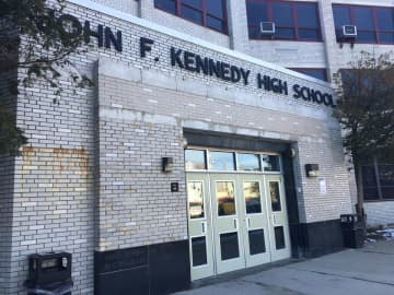 The John F. Kennedy Educational Complex  in Paterson, N.J., Jan. 21, 2020 (Rob Jennings/)