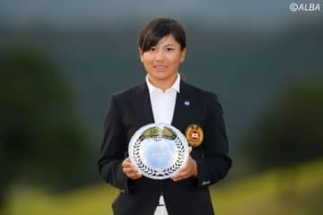 昨年の日本女子オープンでローアマを獲得した梶谷翼