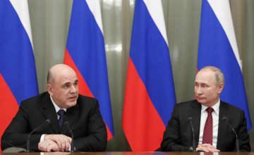 푸틴, 새 내각 승인 대통령령 서명