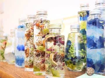 オンリーワンのオリジナルボトル作り 癒しの体験ハーバリウム工房 mimosa(ミモザ)@南越谷