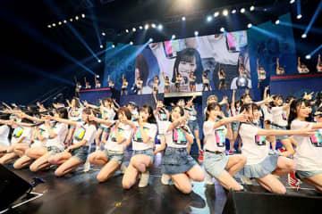 AKB48単独コンサート 埼玉出身・向井地美音さん、高橋彩音さんらバンド披露「楽しい時間過ごせ幸せ」