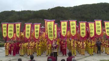 竜の群舞で新年を祝う 福建省将楽県