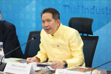 Supant Mongkolsuthree, chairman of the Federation of Thai Industries. (photo supplied)