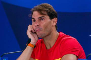 2020年「ATPカップ」でのナダル