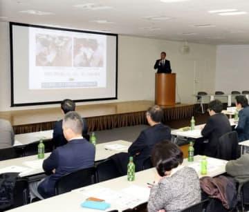 岡山県のNIE実践指定校5校が、2年間の成果を発表した実践報告会