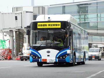 ANAとSBドライブ、先進モビリティ、BYDが共同で行った大型電気バスの自動走行の実証実験