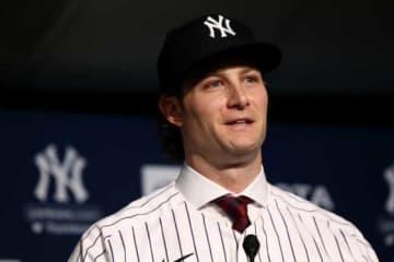 ヤンキースと大型契約を結んだゲリット・コール【写真:Getty Images】