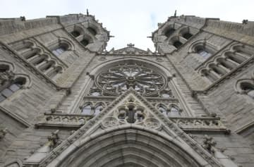 Newark's Cathedral Basilica of the Sacred Heart, home of the Newark Archdiocese. (Perlman, William/)(William Perlman/)