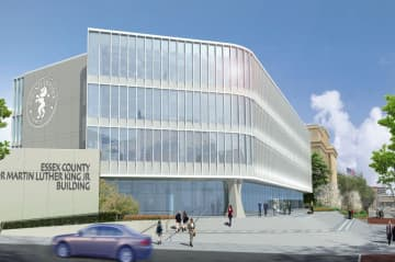 A rendering of the proposed new building at the Essex County Hall of Records complex (Courtesy: Comito Associates Architects) (Comito Associates Architects/)