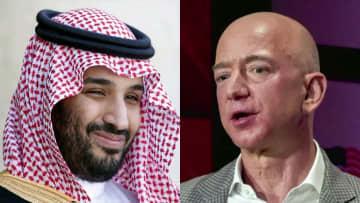 サウジ皇太子がアマゾンCEO携帯電話をハッキングか 国連が捜査の必要性指摘