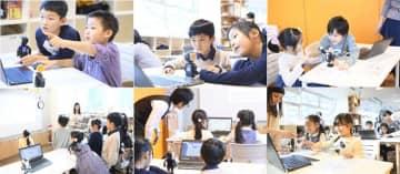 学童保育施設のひらくきっず、モバイル型ロボット「ロボホン」を活用したプログラミング教室を冬休みに開催