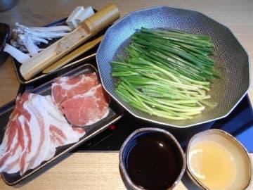 ねぎ鍋専門店 はるいち 朝採れのネギが食べ放題 福岡市中央区