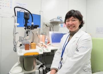 日本初、眼科の「運転外来」を担当する西葛西・井上眼科病院 副院長の國松志保氏