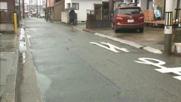 男性が路上に倒れ死亡、ひき逃げ事件か 愛知・岡崎市