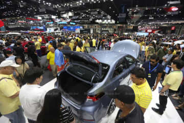 The 36th Thailand International Motor Expo 2019. (File photo)