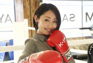 昨年12月の名古屋大会でK-1アンバサダーにもなった安藤美姫