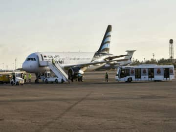 Libyan capital airport halts flights after shelling