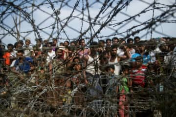 The mainly Muslim African nation of The Gambia brought the case against Myanmar after 740,000 Rohingya fled over the border into Bangladesh, carrying accounts of widespread rape, arson and mass killings.