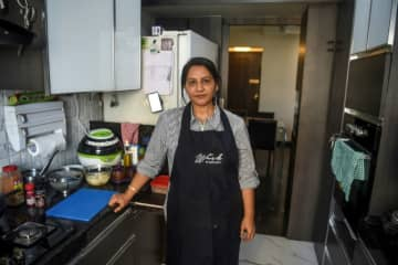 Rashmi Sahijwala is part of an army of housewives turning their homes into 'cloud kitchens'.